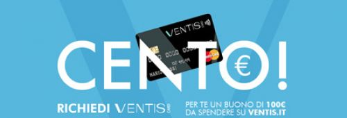 VENTIS CARD : Promo Welcome Voucher
